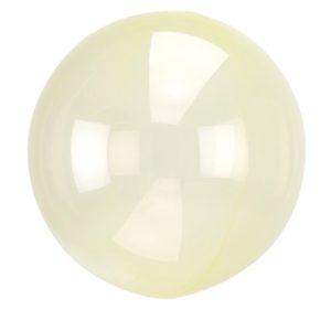 BALÓNOVÁ bublina krystalová žlutá