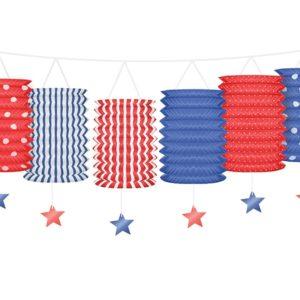 PartyDeco Girlanda USA 3;6 m
