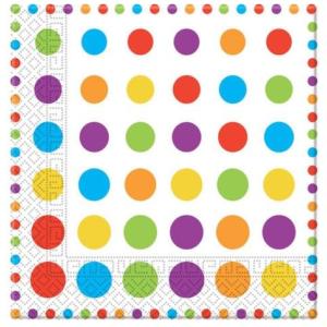 Procos Ubrousky s barevnými puntíky 20 ks