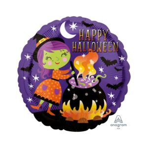Amscan Halloween - Čarodějnice & kotlík