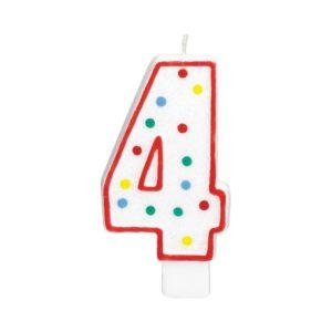 Amscan Velká narozeninová svíčka 4