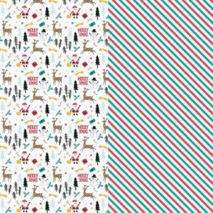 BALÍCÍ papír Merry Xmas mix 70x200cm
