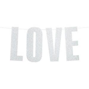 BANNER Love stříbrný