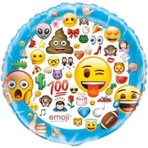 Balón fóliový jumbo Emoji