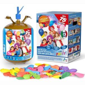HeliumKing Helium na 75 balónků + balónky