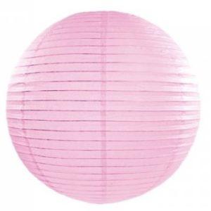 LAMPION papírový světle růžový 35cm 1ks