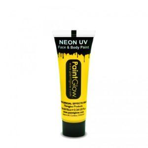 PGW UV barva na obličej a telo - intense Barva: Intenzívní žlutá