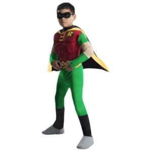 Rubies Kostým Deluxe Robin - dětský Velikost - Děti: L