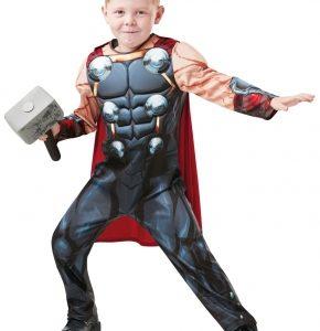 Rubies Thor Deluxe - dětský Velikost - děti: S