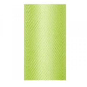 Tyl 30cm/9m světle zelený