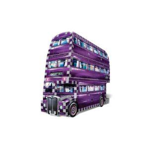 3D Wrebbit Harry Potter 3D Puzzle - Záchranný autobus