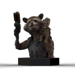 ABY style Busta Rocket Racoon a Groot