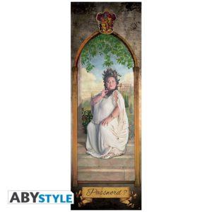 ABY style Plakát na dveře Harry Potter - Tlustá Dáma
