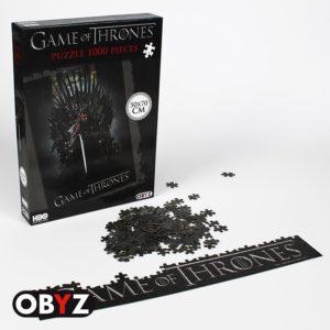 ABY style Puzzle Hra o trůny - Ned na Železném trůnu