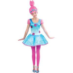 Amscan Dětský kostým - Poppy slečna Velikost - Děti: L