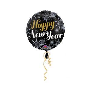 Amscan Fóliový balón Happy New Year - Silvestr