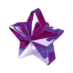 Amscan Závaží na balóny Hvězda fialová
