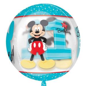BALONOVÁ bublina ORBZ Mickey Mouse 1 rok