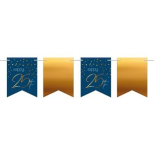 BANNER vlaječkový Elegant True Blue 25