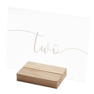 CEDULE s označením stolů 1-12