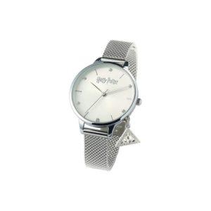 Carat Shop Stříbrný Deathly Hallow Charm hodinky s krystaly Swarovski - Harry Potter