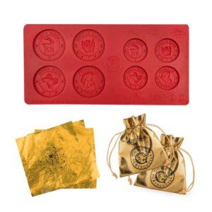 Cinereplicas Forma na čokoládové mince Gringotts Bank