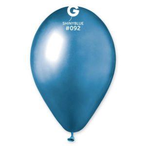 Gemar Balónek chromový modrý 30 cm