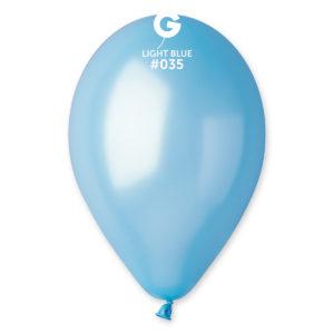 Gemar Balónek metalický baby modrý 26 cm