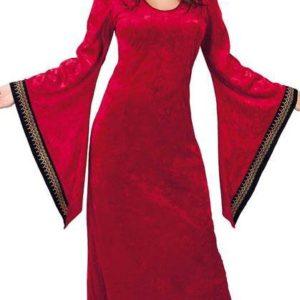 Guirca Dámský kostým - Melisandra Červená kněžka Velikost - dospělý: XL