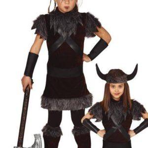 Guirca Dětský kostým - Vikingská dívka Velikost - Děti: M