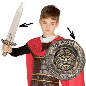Guirca Dětský štít a meč