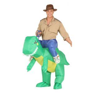 Guirca Kostým Nafukovací Dinosaurus Velikost - dospělý: L