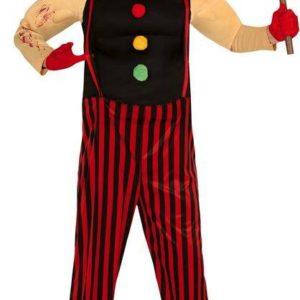 Guirca Pánský kostým - Klaun zabiják Velikost - dospělý: L