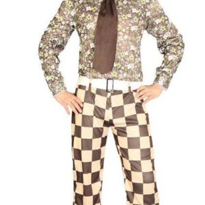 Guirca Pánský kostým - Retro Brady Velikost - dospělý: L