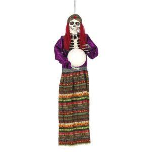 Guirca Visící dekorace - Věštkyně s čarovnou koulí 90 cm