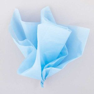 Hedvábný papír Baby Blue