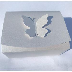 Krabička s motýlem malá perleťová