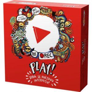 Mindok Společenská hra - Play! Staň sa hviezdou internetu