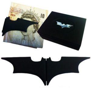 Noble Skládací klip na peníze - Batarang (černý)