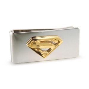 Noble Superman spona na peníze (pozlacená)