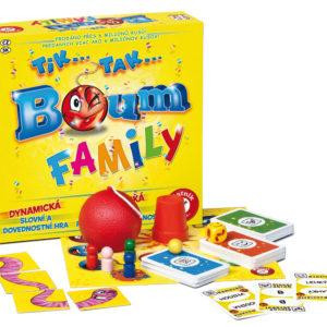 Piatnik Společenská hra - Tik Tak Bum Family