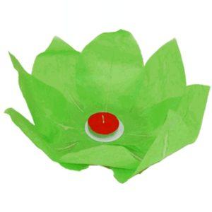 Plovoucí lampión přání zelený