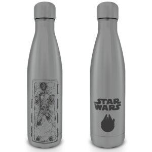 Pyramid Kovová láhev na nápoj Star Wars (Han carbon)