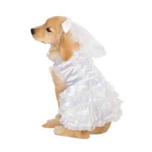 Rubies Kostým pro psy - Nevěsta Velikost pro psy: XL