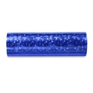 Serpentýny holografické modré