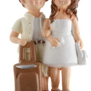 Svatební figurka Cestovatelé 1ks