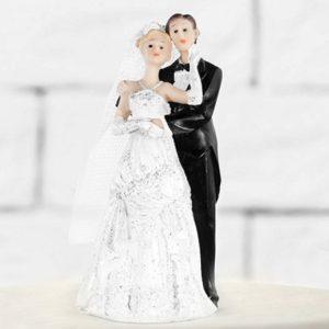 Svatební figurka Novomanželé blond 11cm
