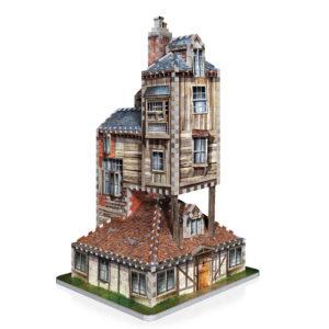 3D Wrebbit Harry Potter 3D Puzzle - Rodinný dům Weasleyových