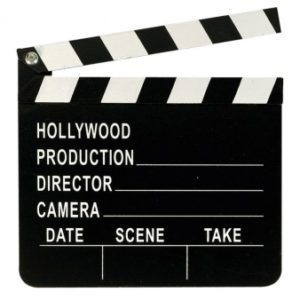 Amscan Clapboard Hollywood