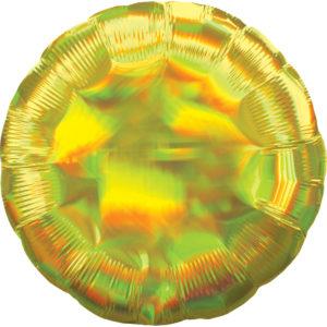 Amscan Fóliový balón - Holografický zlatý Kruh